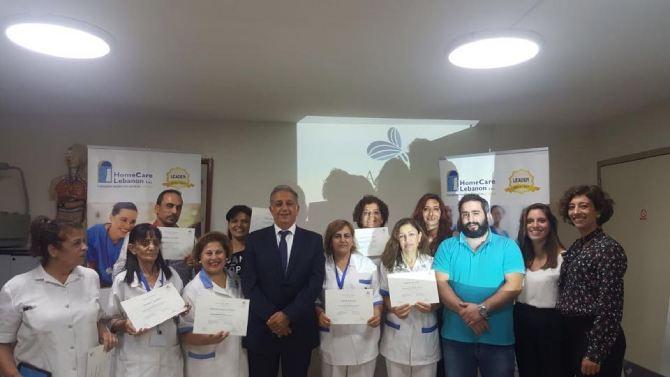 September 2017: Special 32 hour training course to our caregivers