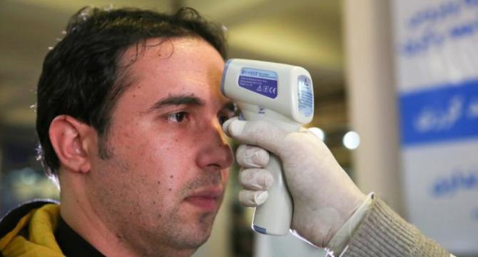 Covid-19 temperature checks service